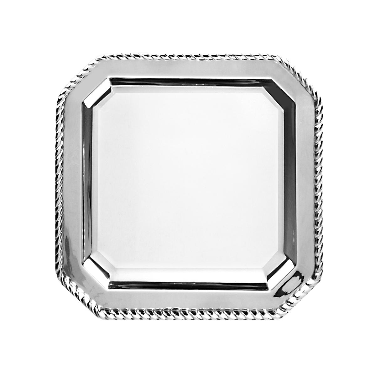 10-Inch Square Tray in Rope