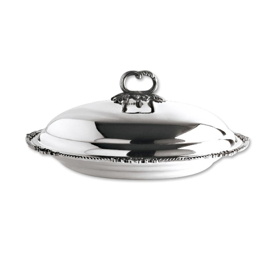 Orfevra Deep Round Platter with Cover