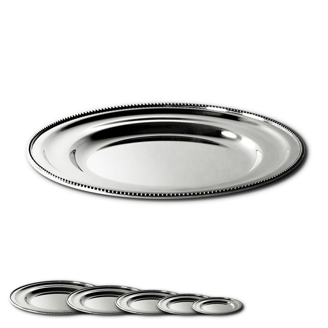 """12"""" Round Platter in Pearl"""