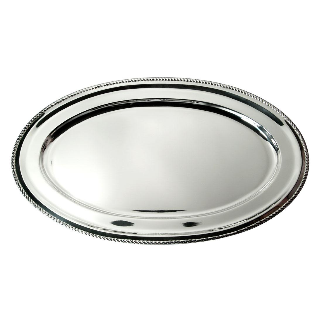 Orfevra 28 Inch Silver Plated Turkey Platter