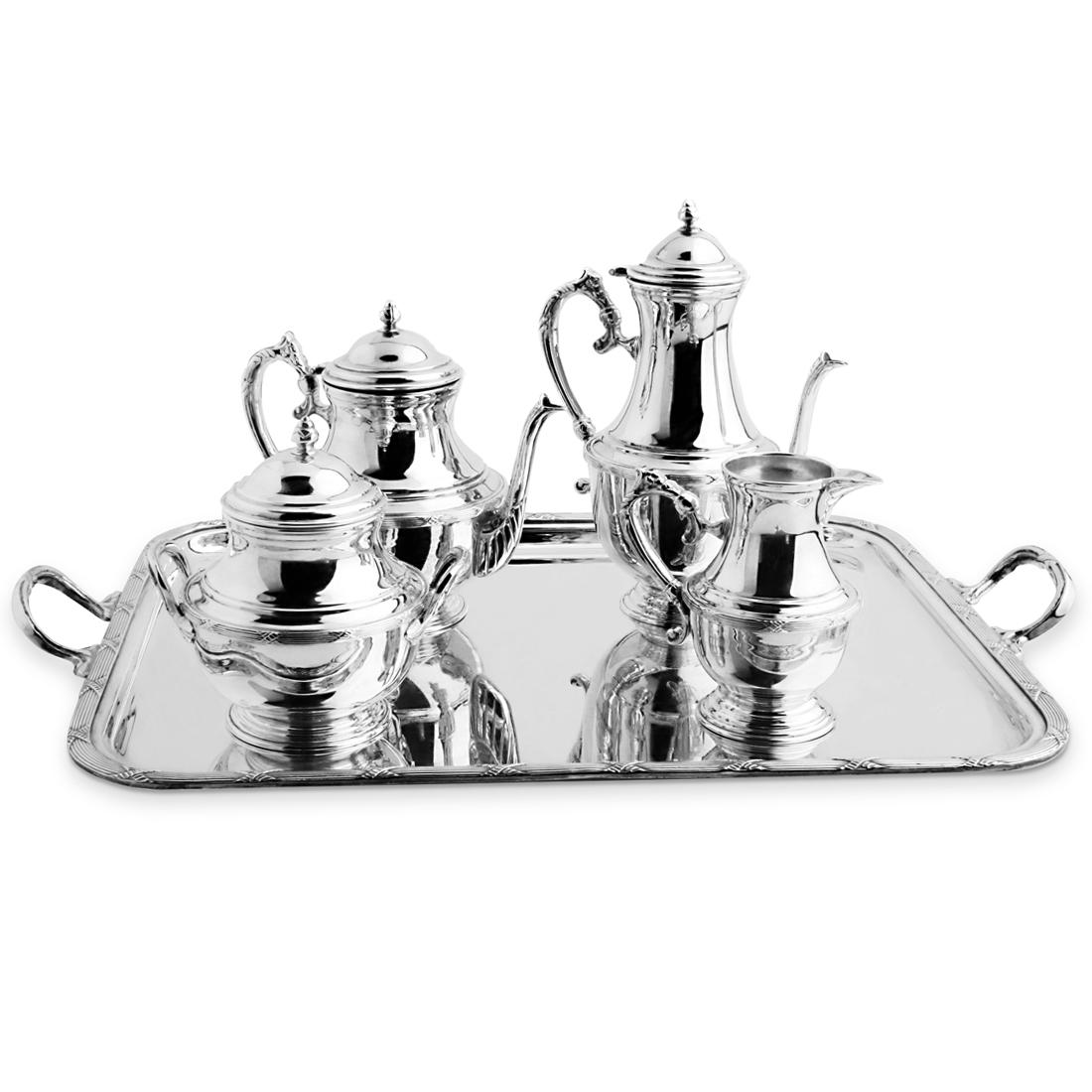 Orfevra Silver Plated Tea Coffee Set