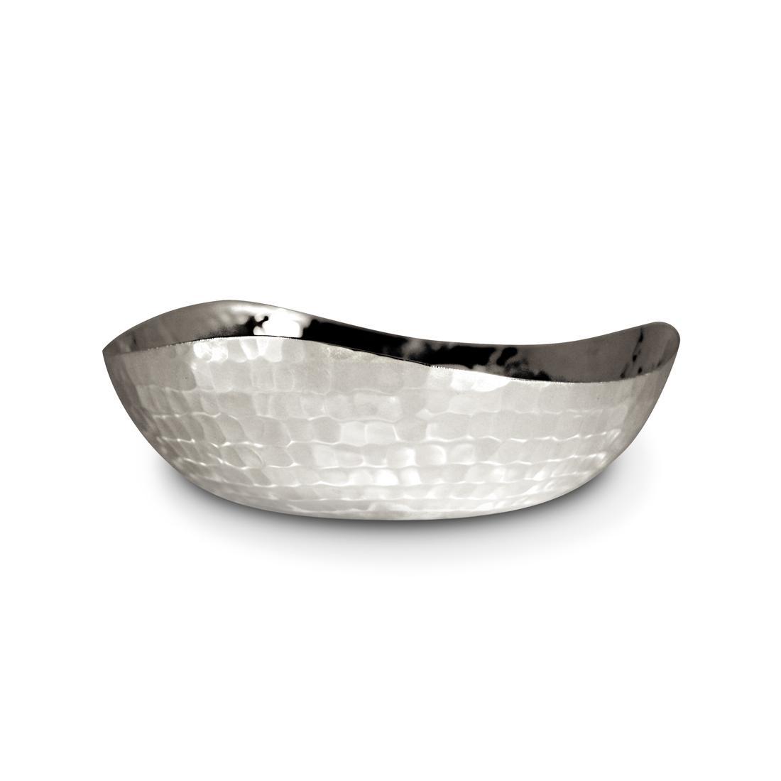 6-Inch Triangular Hammered Bowl