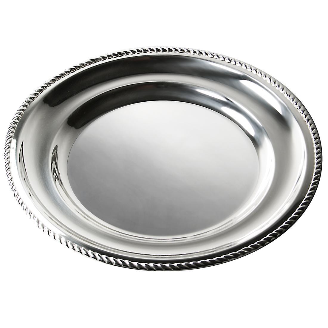 "14"" Round Platter in Rope"