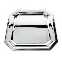 Orfevra Silver Plated 20-Inch Vendome Square Tray