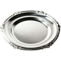 14-Inch Round Platter in Royal